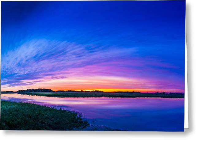 El Nino Sky Greeting Card by Marvin Spates