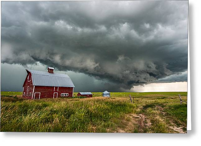 Outbuildings Greeting Cards - Elbert Colorado Greeting Card by Colt Forney