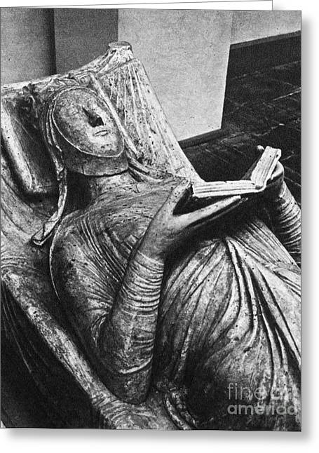 Ellenore Greeting Cards - Eleanor Of Aquitaine Greeting Card by Granger