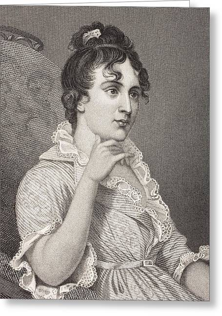 Custis Greeting Cards - Eleanor Parke Custis Lewis 1779 - 1852 Greeting Card by Ken Welsh