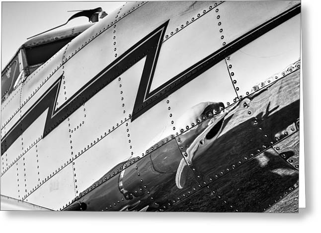 Lockheed Electra Greeting Cards - Electra in Chrome Greeting Card by Chris Buff
