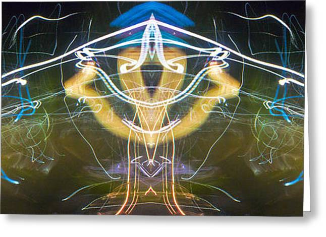 Photography Lightning Digital Art Greeting Cards - Electric Stealth Greeting Card by Don Lee
