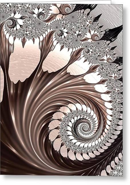 Elegance Greeting Card by Susan Maxwell Schmidt