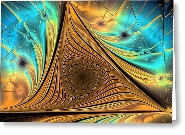 Element Greeting Card by Anastasiya Malakhova