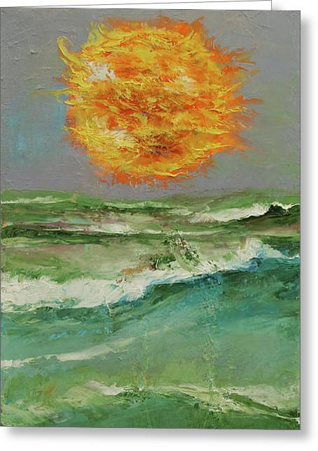 Elements Greeting Card by Michael Creese