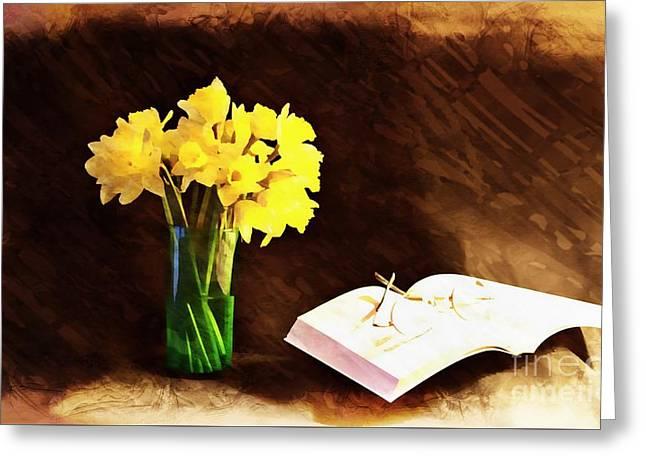 Elements Of Pleasure Greeting Card by Marcia Lee Jones