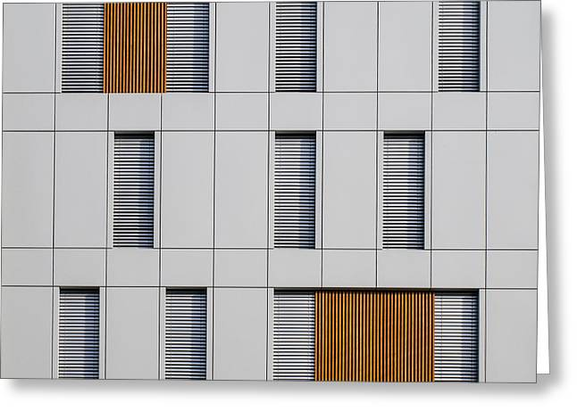 Facades Photographs Greeting Cards - Eleven Greeting Card by Luc Vangindertael