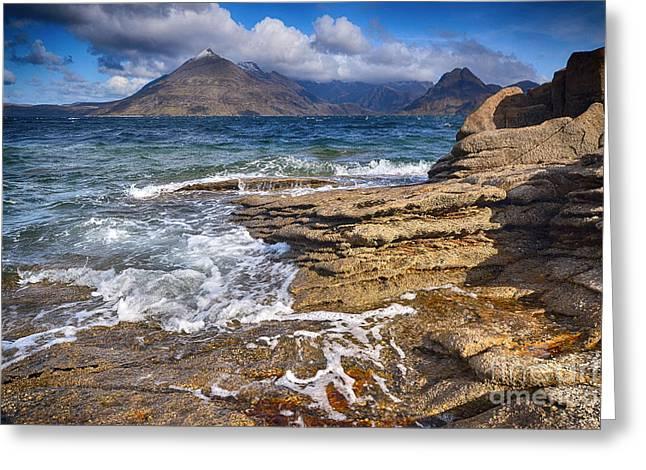 Elgol, Isle Of Skye Greeting Card by Stephen Smith
