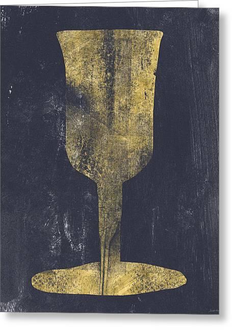 Elijah's Cup - Art By Linda Woods Greeting Card by Linda Woods