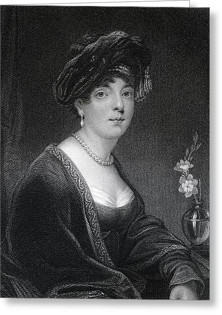 Reformer Drawings Greeting Cards - Elizabeth Leveson Gower Duchess And Greeting Card by Ken Welsh