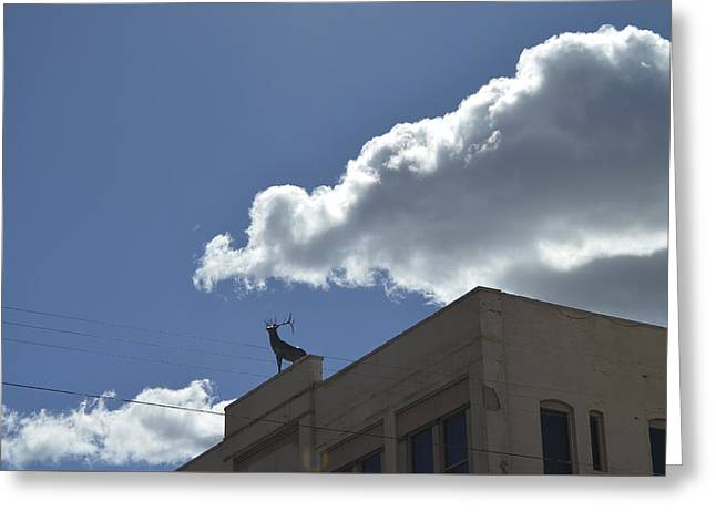 Prescott Greeting Cards - Elks Theatre Greeting Card by Erik Burg