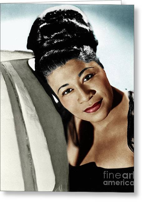 Ella Fitzgerald Greeting Card by Granger