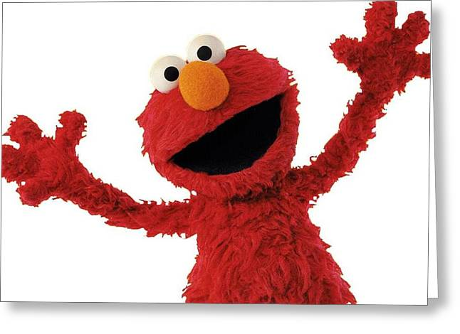 Elmo Greeting Card by Sesame Street