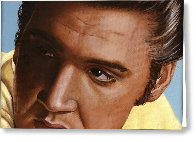 Elvis 24 1956 Greeting Card by Rob De Vries
