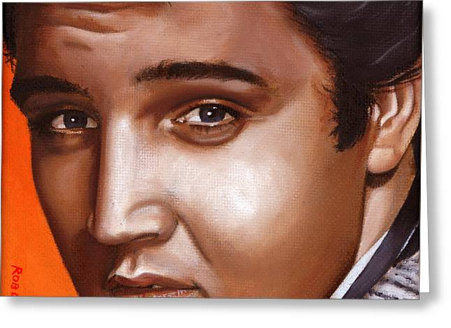Elvis 24 1957 Greeting Card by Rob De Vries