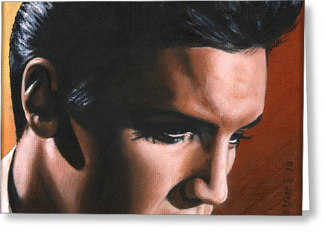 Elvis 24 1963 Greeting Card by Rob de Vries