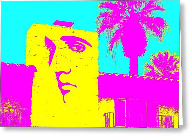 Elvis Icon Greeting Cards - Elvis Palm Springs 2 Greeting Card by Randall Weidner