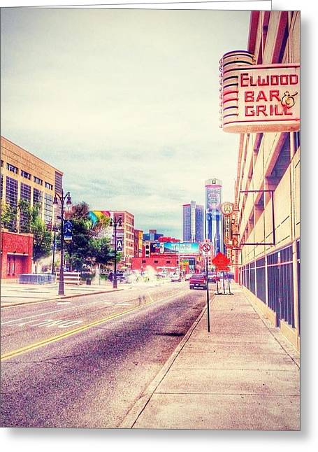 National Past Time Greeting Cards - Elwood Greeting Card by Jim Richardson