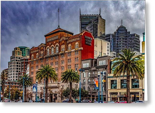 Embarcadero Street Greeting Card by Bill Gallagher