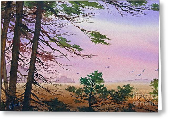 Embrace Greeting Cards - Embrace of Dawn Greeting Card by James Williamson