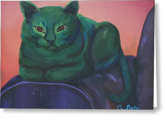 Gail Daley Greeting Cards - Emerald Greeting Card by Gail Daley