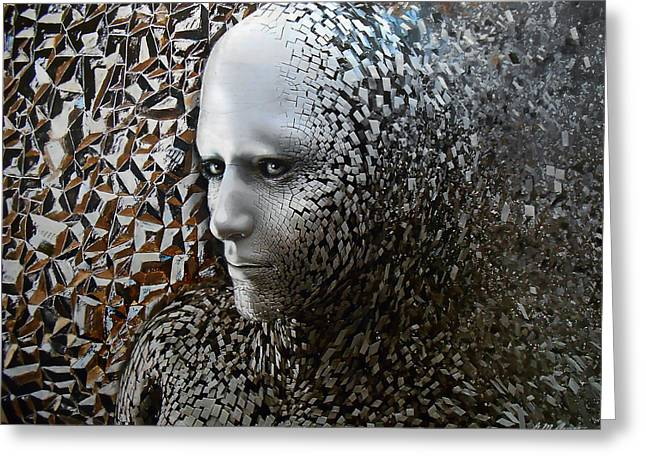 Psychological Greeting Cards - Emergence Greeting Card by Michael Durst