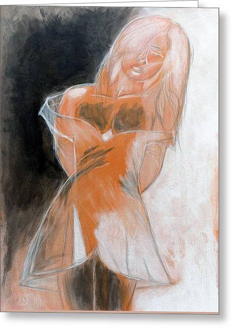 Bella Donna Greeting Cards - Emily 2 Greeting Card by Alberto Dell