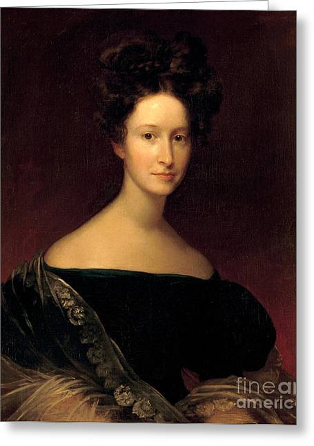 Emily Donelson, First Lady Greeting Card by Science Source
