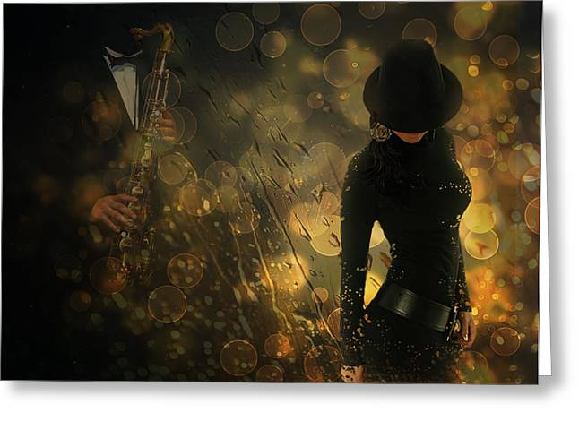 """""""photo Manipulation"""" Photographs Greeting Cards - Emmanuelle Greeting Card by Nataliorion"""