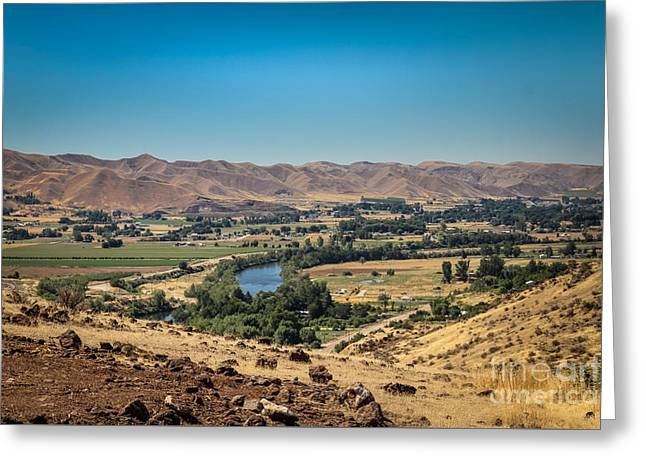 The Butte Greeting Cards - Emmet Valley From Cherry Gulch Greeting Card by Robert Bales