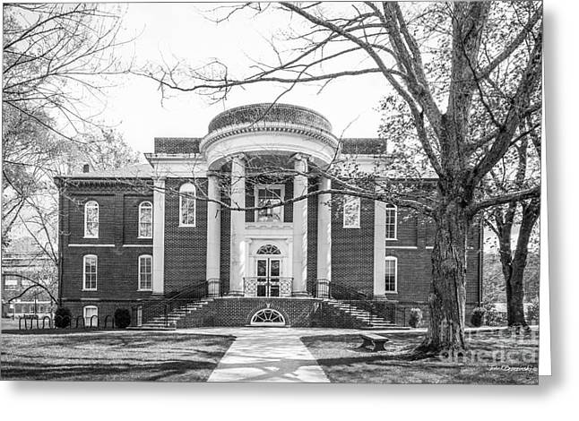 Emory And Henry College Byars Hall Greeting Card by University Icons