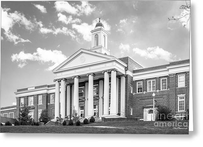 Emory And Henry College Wiley Hall Greeting Card by University Icons
