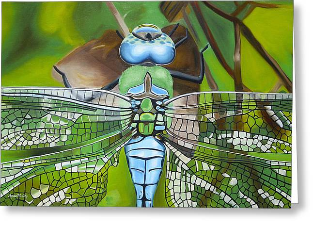 Emperor Dragonfly Greeting Card by Bryan Ory