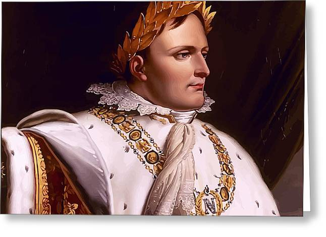 Emperor Napoleon Bonaparte  Greeting Card by War Is Hell Store