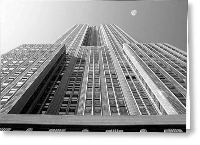 Famous Buildings Greeting Cards - Empire State Building Greeting Card by Mike McGlothlen