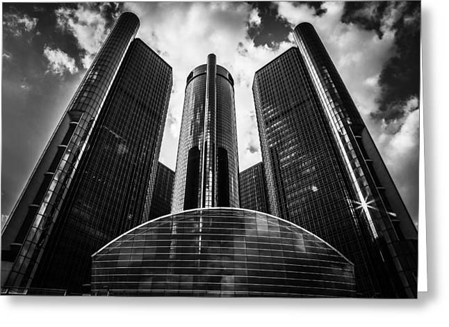 Rencen Greeting Cards - Empire Greeting Card by Stephen Crosson