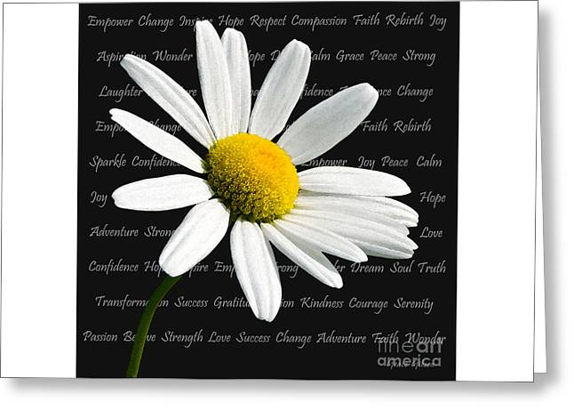 Empowerment Greeting Card by Grace Gibson