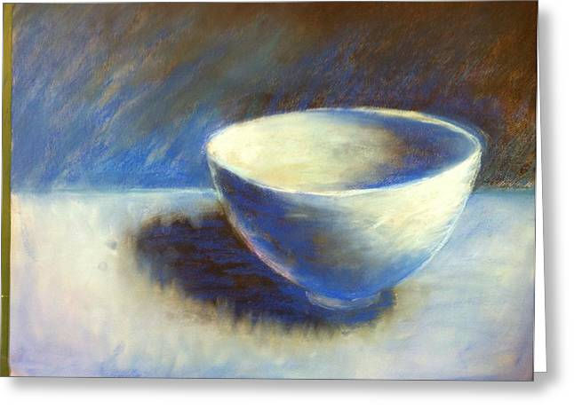 Empty Bowl Greeting Card by Jeff Levitch