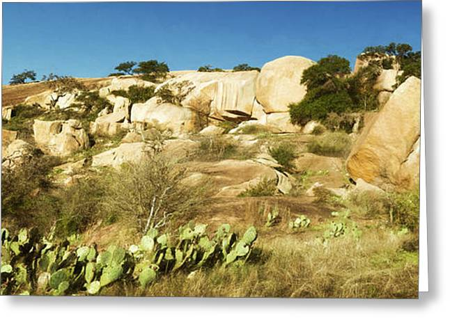 Greeting Cards - Enchanted Rock State Natural Area Greeting Card by Joan Carroll