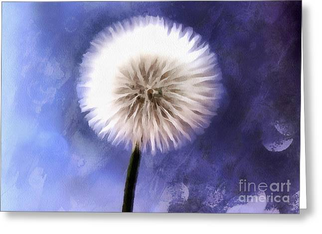 Wishes Greeting Cards - Enchanted Wish Greeting Card by Krissy Katsimbras