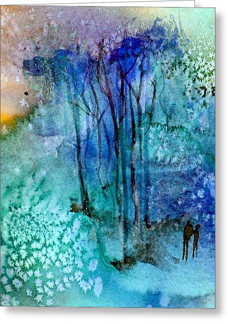 Enchantment Greeting Card by Anne Duke