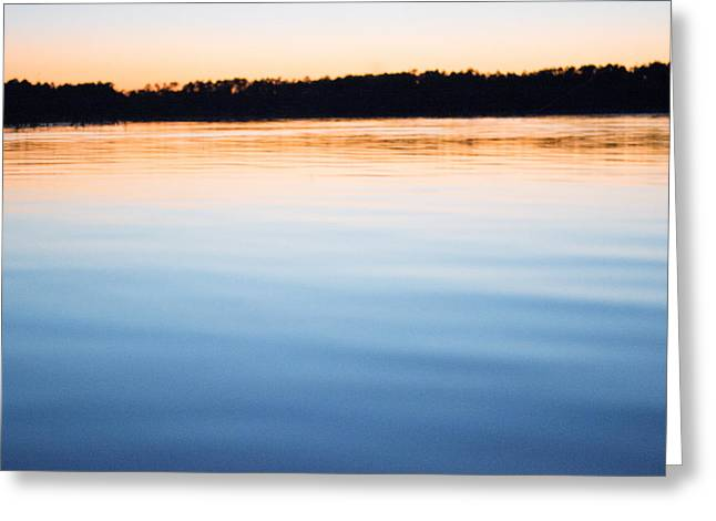 Sunset Abstract Greeting Cards - End of the Day Greeting Card by Parker Cunningham