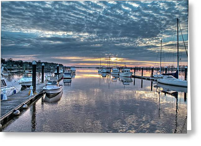 Mike Covington Greeting Cards - End of the Season Greeting Card by Mike Covington