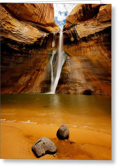 Southern Utah Greeting Cards - End of the Trail Greeting Card by Steve Howa