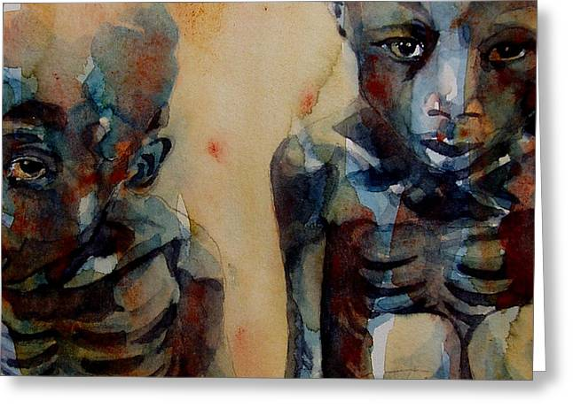 Red Cross Greeting Cards - Endangered spieces Greeting Card by Paul Lovering