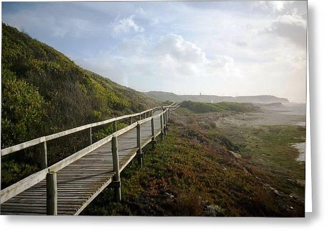 Ocean Landscape Greeting Cards - Endless Greeting Card by Wayne Kendrick