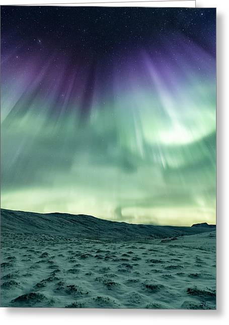 Energized Greeting Card by Tor-Ivar Naess
