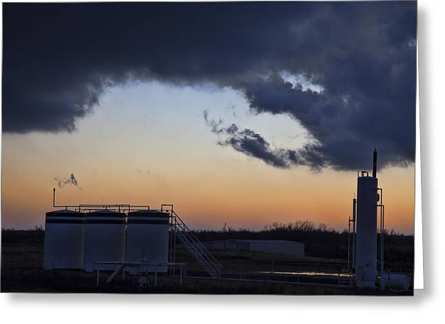 Storm Framed Prints Greeting Cards - Energy Greeting Card by Toni Hopper