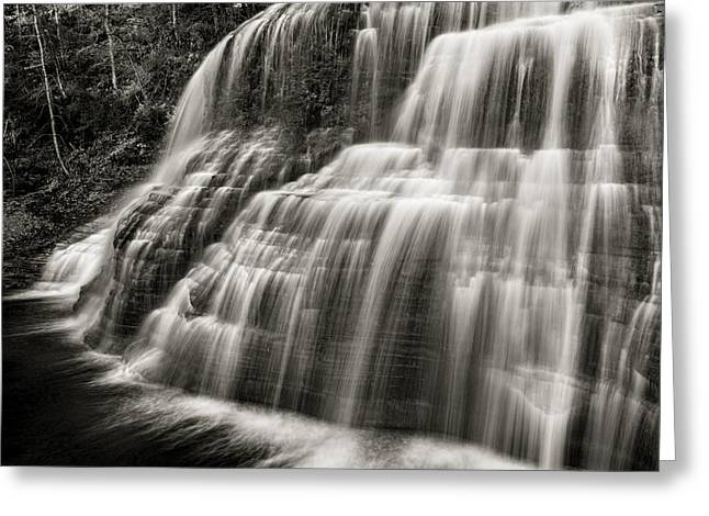 Lower Falls #3 Greeting Card by Stephen Stookey