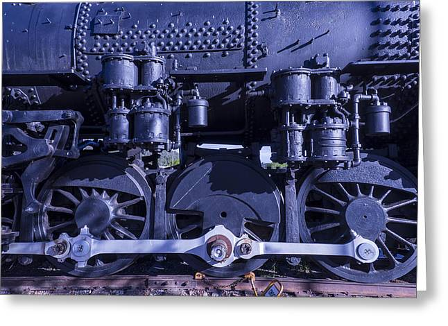 Grand Canyon State Greeting Cards - Engine 539 Greeting Card by Garry Gay